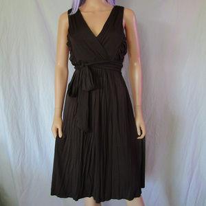 VS Bra Tops XL Brown Jersey Empire Waist Dress